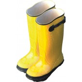 "Yellow 17"" Slush Boots"